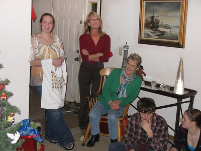 Sheri, Betty, Jetty, Jason, and Krista.