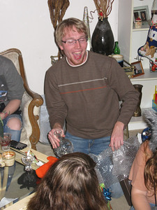 Colin picked a crystal decanter set which was later stolen.
