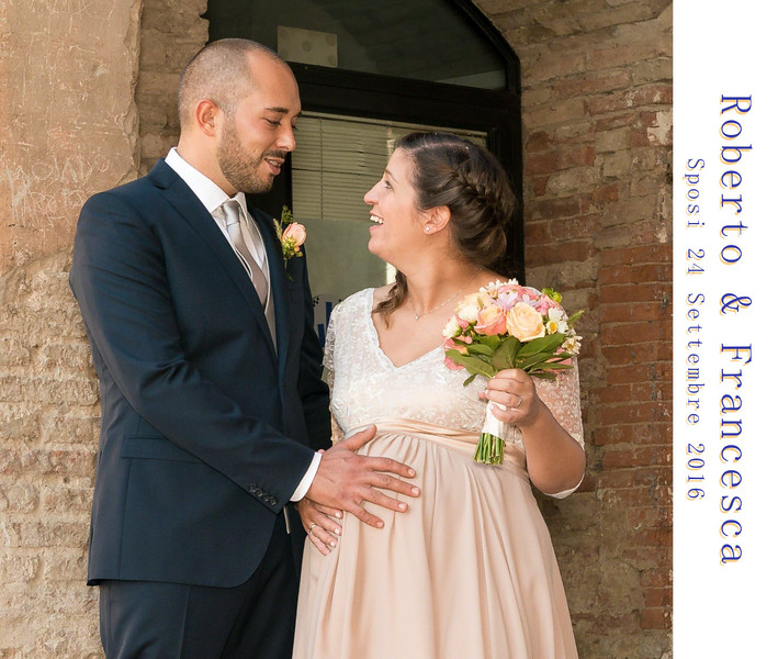 Roberto & Francesca Sposi 24 Settembre 2016