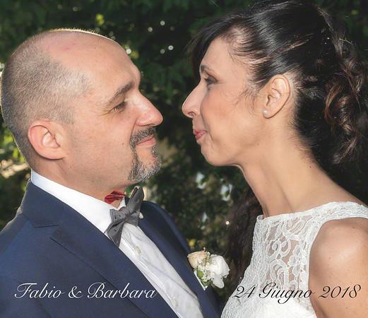 Fabio & Barbara 24 Giugno 2018 - book