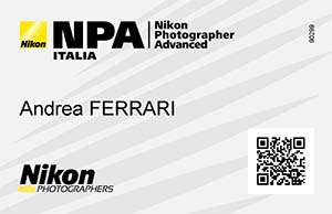 Andrea Ferrari Nikon photographer advanced