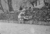 SD990646B2, Man marking Ordnance Survey minor control revision point with an arrow in 1950s