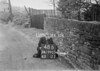 SD990348B, Man marking Ordnance Survey minor control revision point with an arrow in 1950s