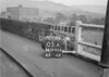 SD990405A1, Man marking Ordnance Survey minor control revision point with an arrow in 1950s