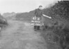 SD990641B, Man marking Ordnance Survey minor control revision point with an arrow in 1950s