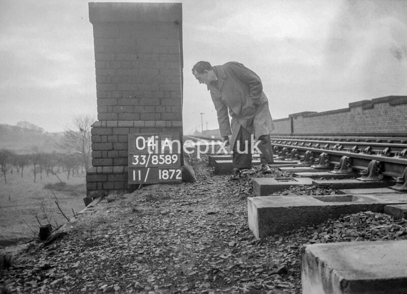 SJ858904A, Ordnance Survey Revision Point photograph in Greater Manchester
