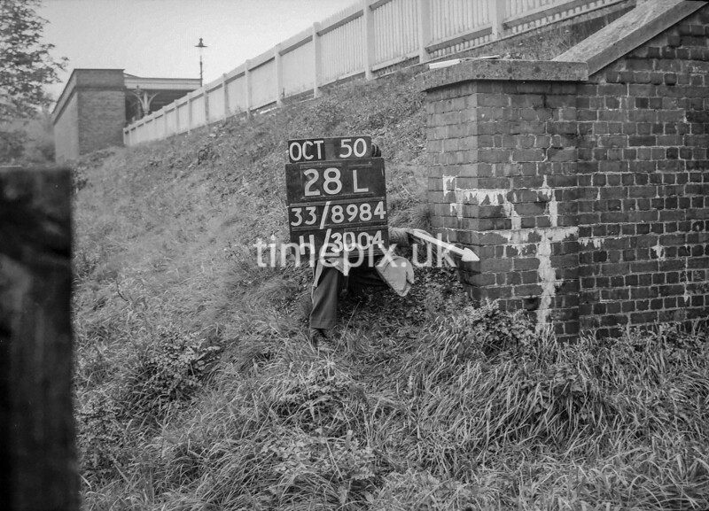 SJ898428L, Ordnance Survey Revision Point photograph of Greater Manchester