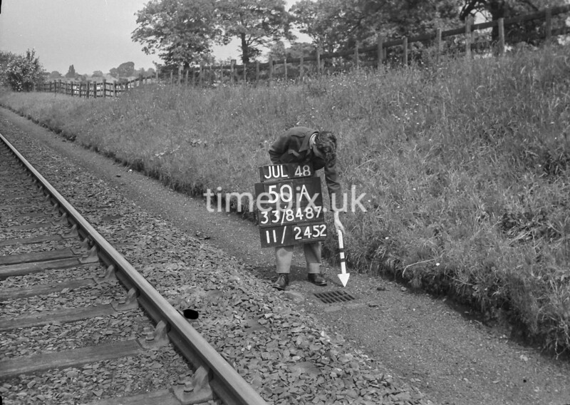 SJ848750A, Ordnance Survey Revision Point photograph in Greater Manchester