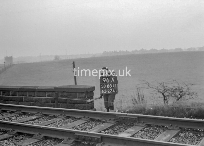 SD881196A, Ordnance Survey Revision Point photograph in Greater Manchester