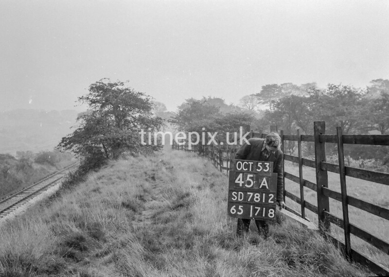 SD781245A1, Ordnance Survey Revision Point photograph in Greater Manchester