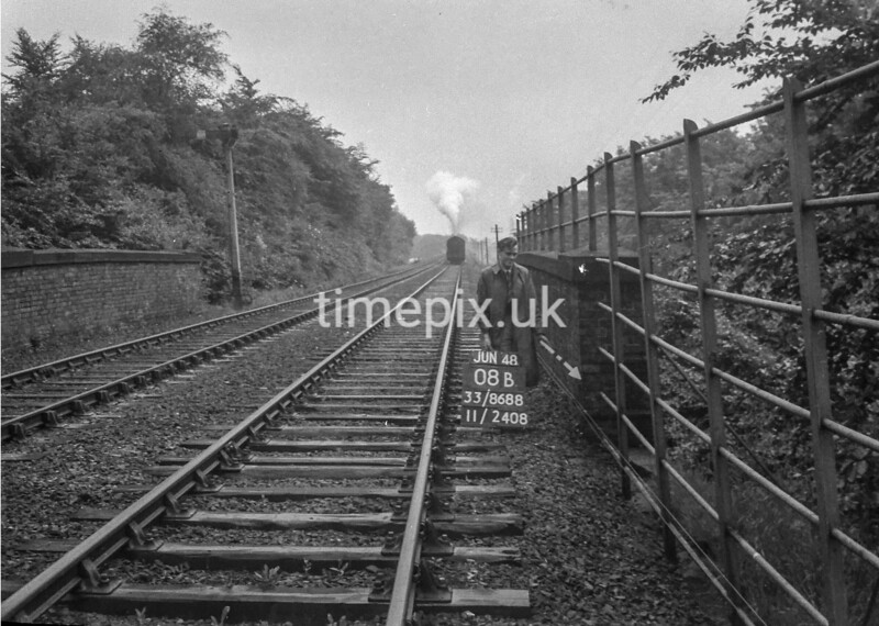 SJ868808B, Ordnance Survey Revision Point photograph in Greater Manchester