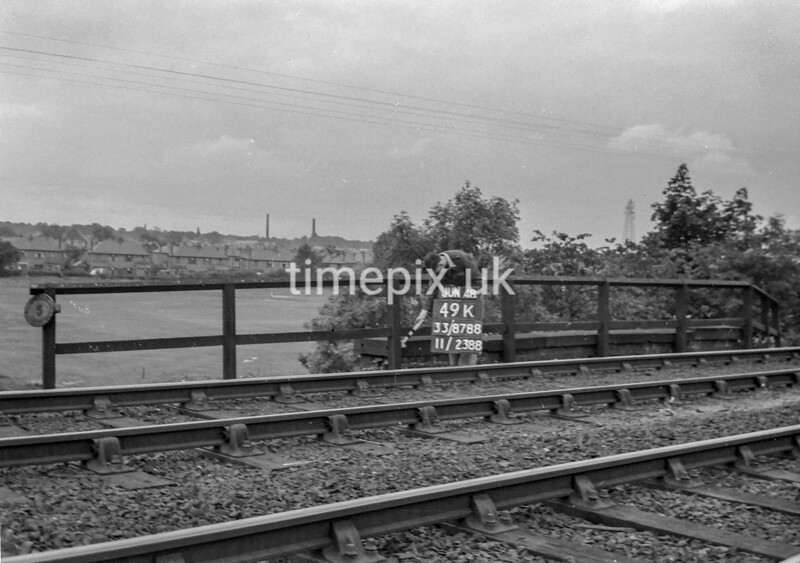 SJ878849K, Ordnance Survey Revision Point photograph of Greater Manchester