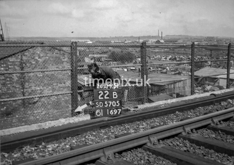 SD570522B, Ordnance Survey Revision Point photograph in Wigan