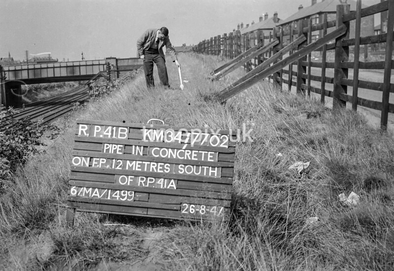 SD770241B, Ordnance Survey Revision Point photograph in Greater Manchester