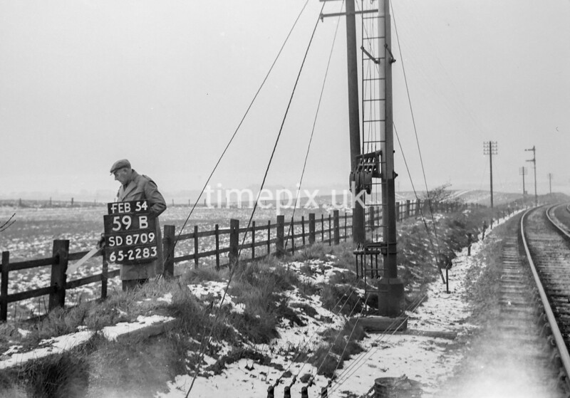 SD870959B, Ordnance Survey Revision Point photograph in Greater Manchester