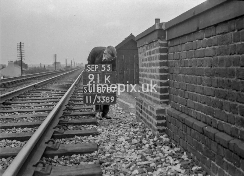 SJ878791K, Ordnance Survey Revision Point photograph of Greater Manchester