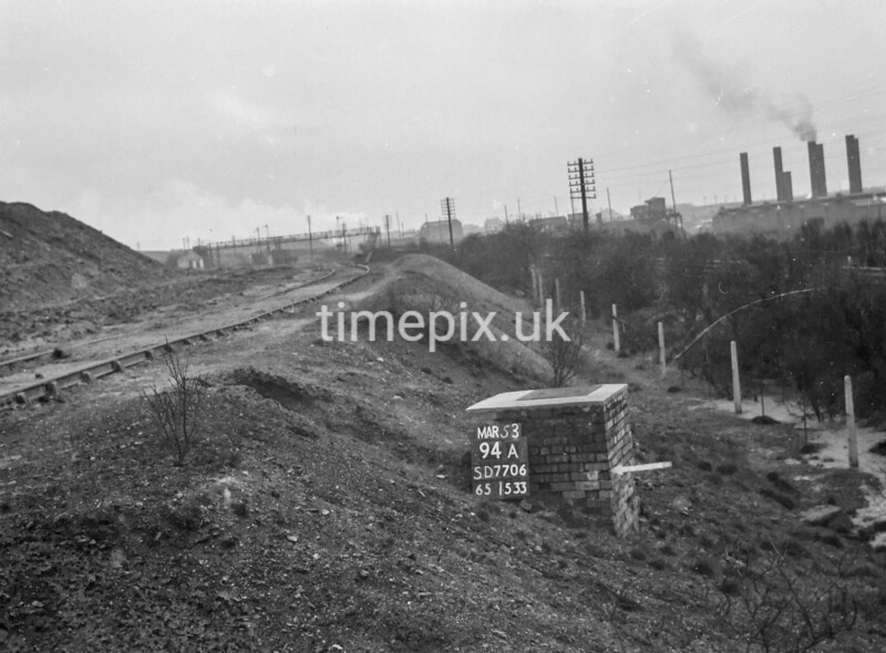 SD770694A, Ordnance Survey Revision Point photograph in Greater Manchester