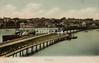 FGOS_00936, Edwardian postcard of the railway bridge and a paddlesteamer at Lymington by FGO Stuart