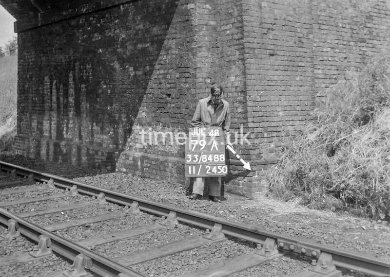 SJ848879A, Ordnance Survey Revision Point photograph in Greater Manchester