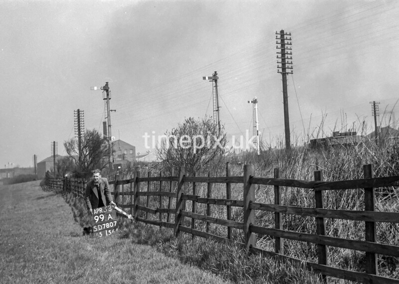 SD780799A, Ordnance Survey Revision Point photograph in Greater Manchester