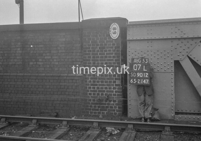 SD901207L, Ordnance Survey Revision Point photograph in Greater Manchester