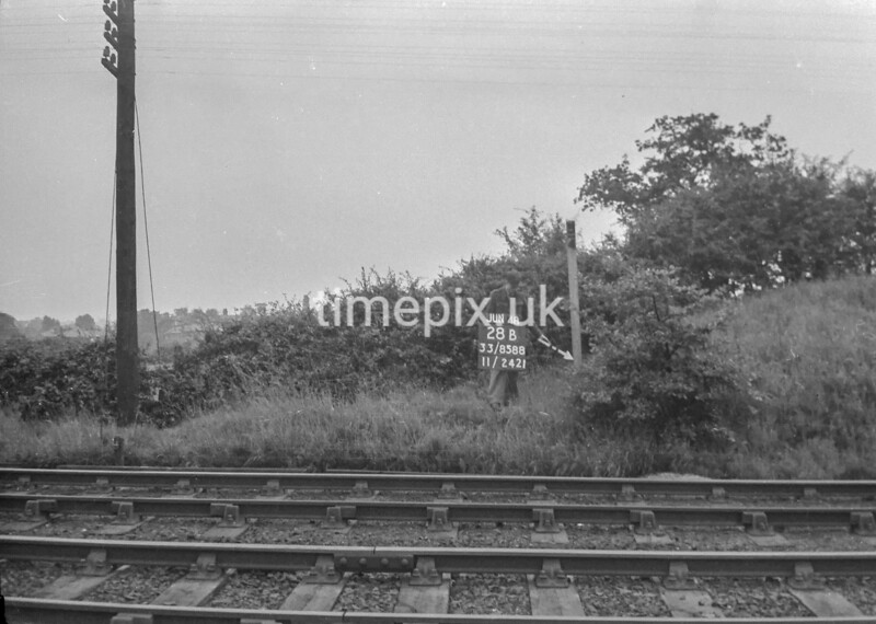 SJ858828B, Ordnance Survey Revision Point photograph in Greater Manchester