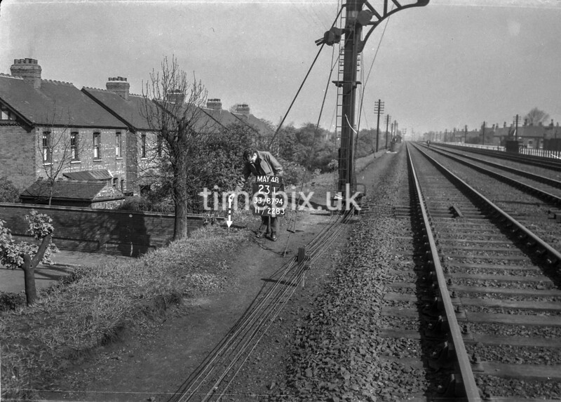 SJ879423L, Ordnance Survey Revision Point photograph in Greater Manchester