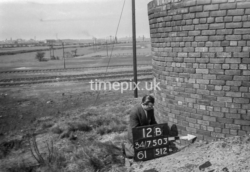 SD750312B, Ordnance Survey Revision Point photograph in Greater Manchester
