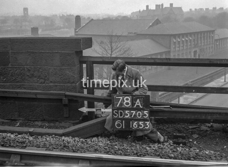 SD570578A, Ordnance Survey Revision Point photograph in Wigan
