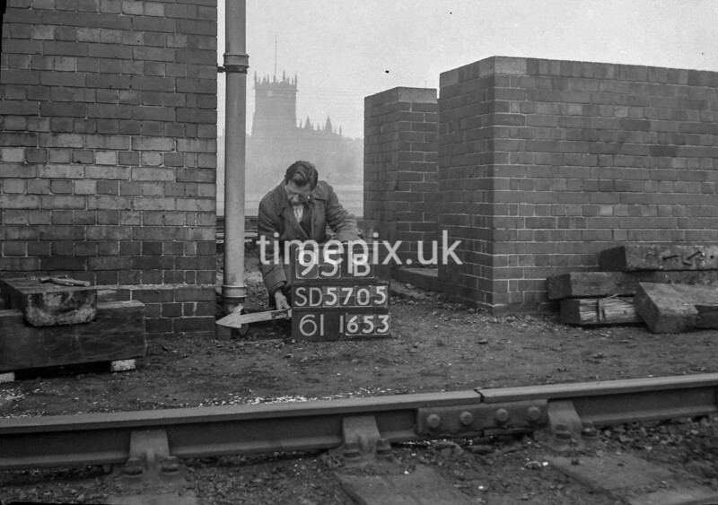 SD570595B, Ordnance Survey Revision Point photograph in Wigan