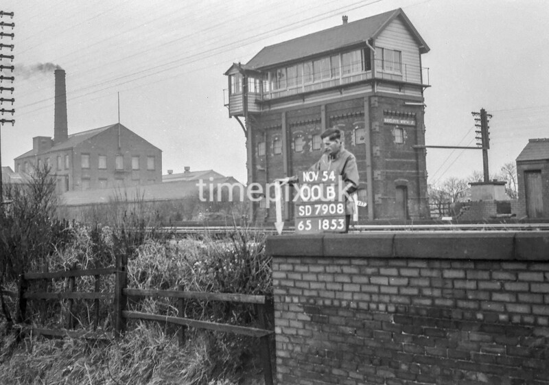 SD790800B, Ordnance Survey Revision Point photograph in Greater Manchester
