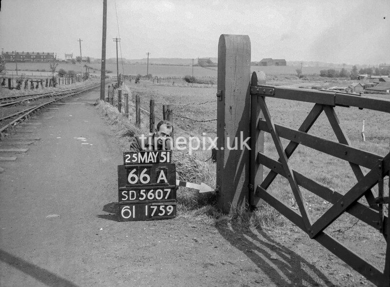 SD560766A, Ordnance Survey Revision Point photograph in Greater Manchester
