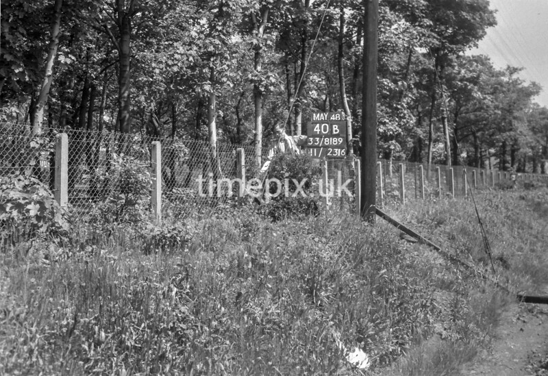 SJ818940B, Ordnance Survey Revision Point photograph in Greater Manchester