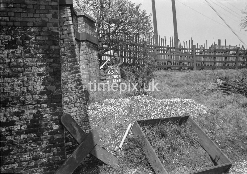 SD780765B, Ordnance Survey Revision Point photograph in Greater Manchester