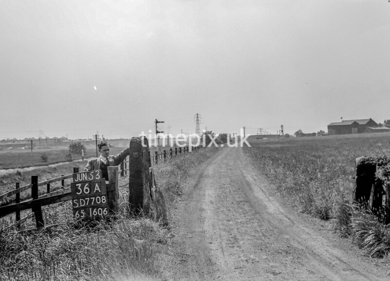 SD770836A, Ordnance Survey Revision Point photograph in Greater Manchester