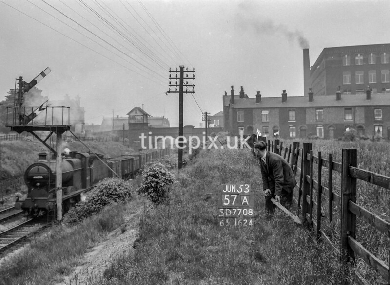 SD770857A, Ordnance Survey Revision Point photograph in Greater Manchester