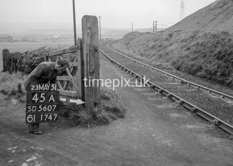 SD560745A, Ordnance Survey Revision Point photograph in Greater Manchester