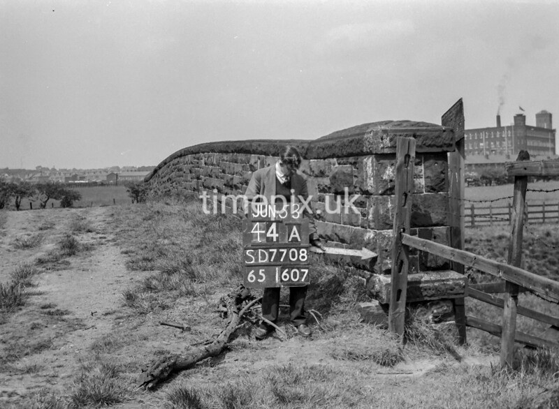 SD770844A, Ordnance Survey Revision Point photograph in Greater Manchester