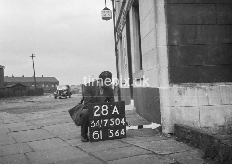 SD750428A, Ordnance Survey Revision Point photograph in Greater Manchester