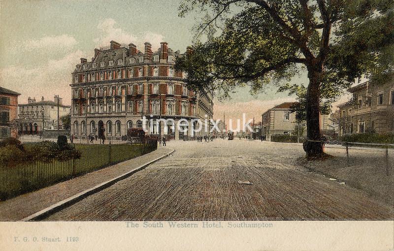 FGOS_01193, Edwardian postcard of Southampton by FGO Stuart