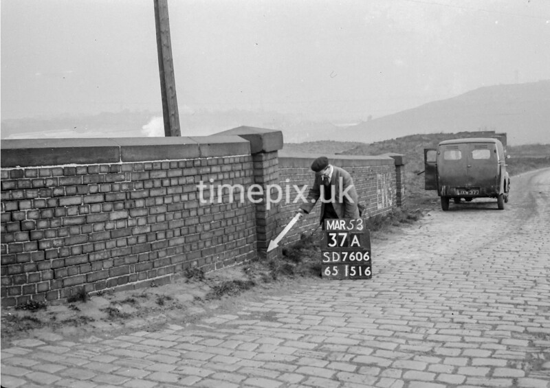 SD760637A, Ordnance Survey Revision Point photograph in Greater Manchester