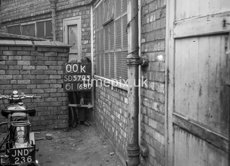 SD570500K, Ordnance Survey Revision Point photograph in Wigan