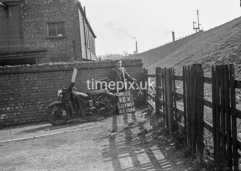 SD780792K, Ordnance Survey Revision Point photograph in Greater Manchester