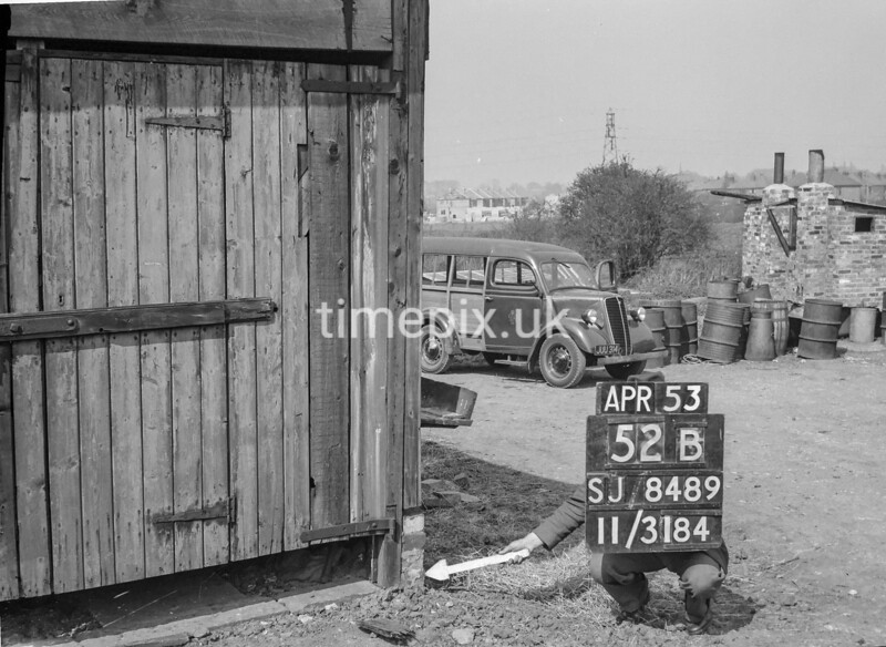 SJ848952B, Ordnance Survey Revision Point photograph in Greater Manchester