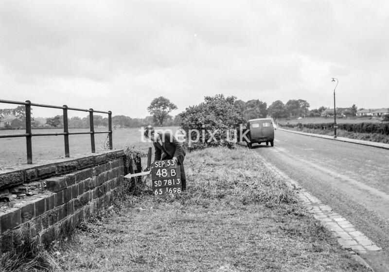 SD781348B, Ordnance Survey Revision Point photograph in Greater Manchester