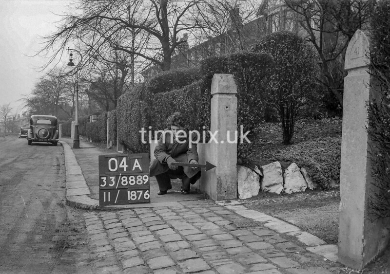 SJ888904A, Ordnance Survey Revision Point photograph in Greater Manchester