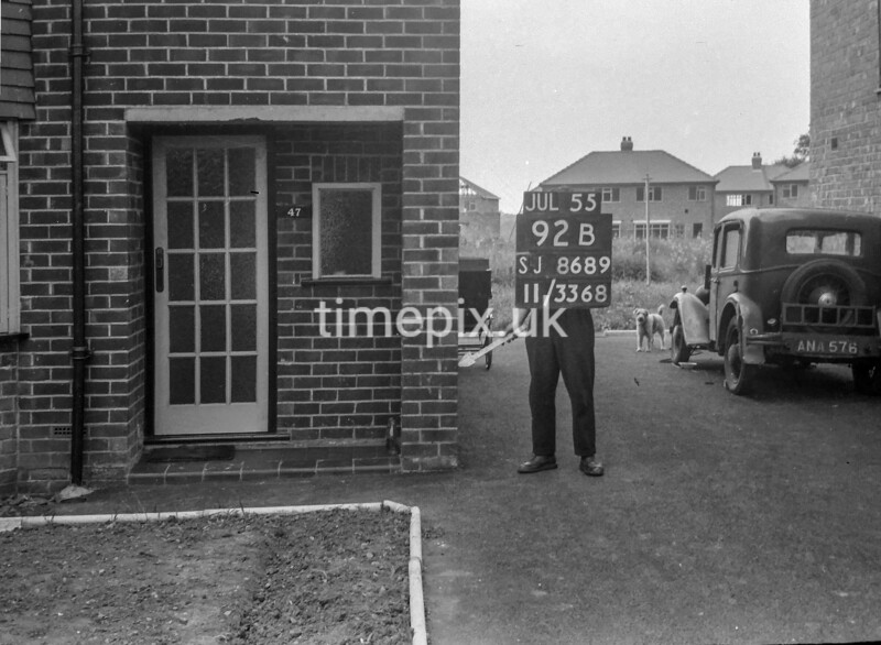 SJ868992B2, Ordnance Survey Revision Point photograph in Greater Manchester