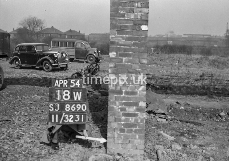 SJ869018W, Ordnance Survey Revision Point photograph in Greater Manchester