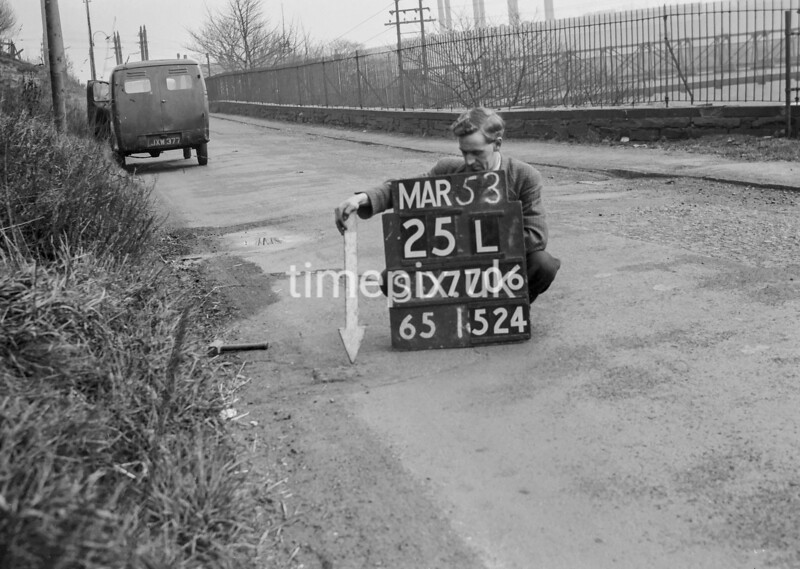 SD770625L, Ordnance Survey Revision Point photograph in Greater Manchester