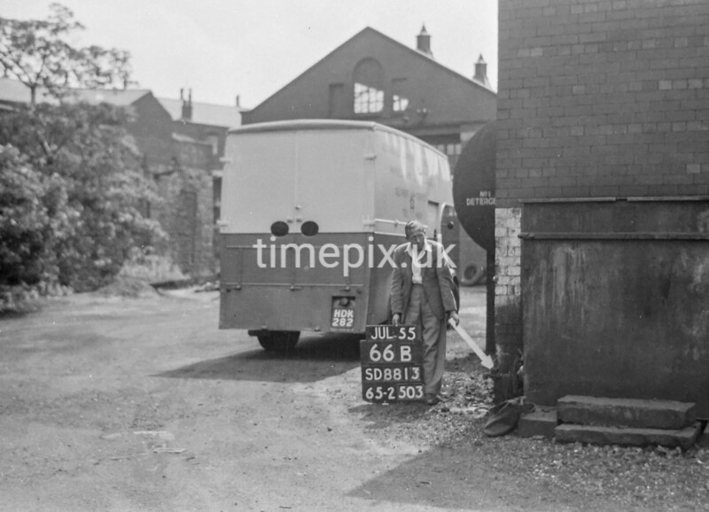 SD881366B, Ordnance Survey Revision Point photograph in Greater Manchester